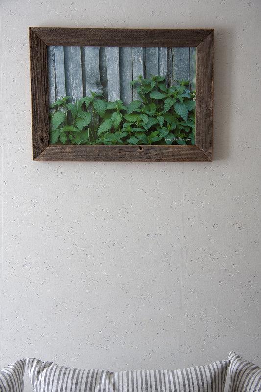 A3 formāta foto vecā koka rāmī